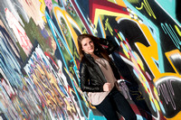 Graffiti and fun art backgrounds for portraits